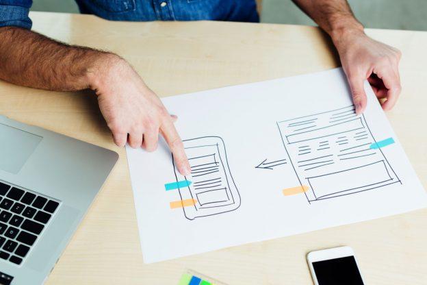 Yksinkertainen, looginen ja kaikissa laitteissa helposti toimiva verkkosivu on suunnittelutyössä hyvä lähtökohta.